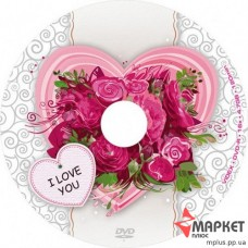DVD-R Videx 16x bulk (50) I Love You